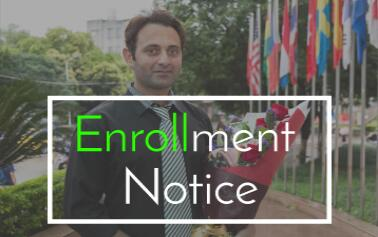 GXNU's Enrollment Notice for Chinese Government Scholarships (2016)